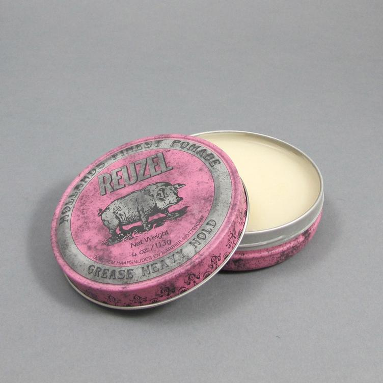 Pomade Grease Heavy Hold - 0